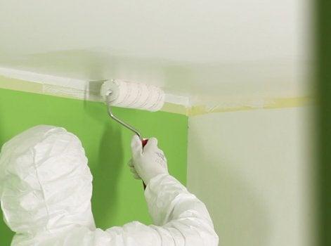 1 Préparer Le Chantier Avant De Peindre Un Plafond
