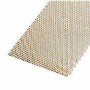 Tôle aluminium perforée anodisé doré l.60 x L.100 cm Ep.1.6 mm