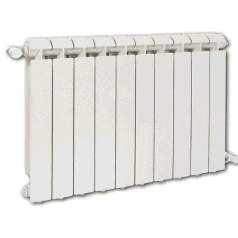 Radiateur Chauffage Central Klass Blanc L 80 Cm 1320 W