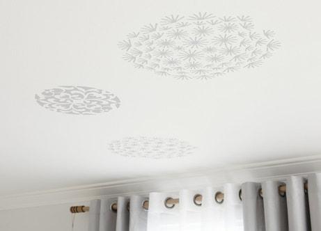 Des stickers ronds et XXL pour habiller murs ou plafonds