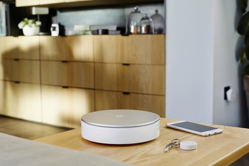 une alarme maison san fil connect e myfox leroy merlin. Black Bedroom Furniture Sets. Home Design Ideas