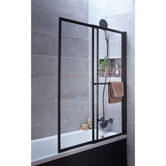 Pare baignoire salle de bains au meilleur prix leroy for Salle de bain douche et baignoire leroy merlin