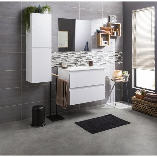meuble vasque blanc polly leroy merlin. Black Bedroom Furniture Sets. Home Design Ideas