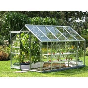 Serre de jardin en verre trempé Venus, 6.195 m²