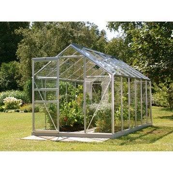 Serre de jardin en verre trempé Venus, 7.411 m²