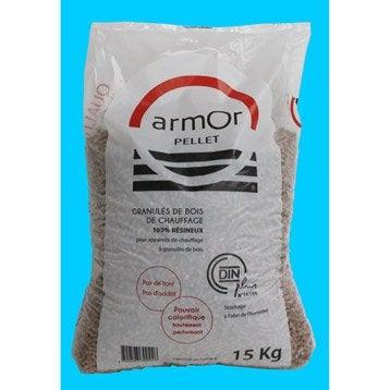 Bois de chauffage granul s pellets et b ches calorifique - Sac a granule ...