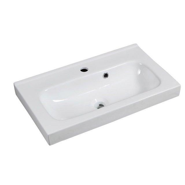 Plan Vasque Simple Remix Ceramique L 61 X P 35 Cm