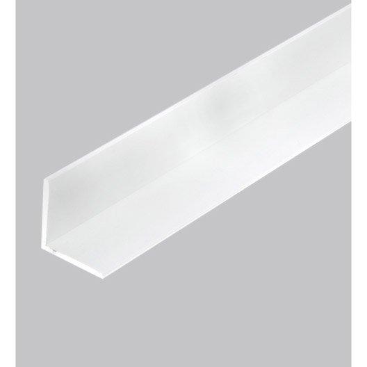 corni re gale pvc mat l 2 5 m x l 1 cm x h 1 cm leroy merlin. Black Bedroom Furniture Sets. Home Design Ideas