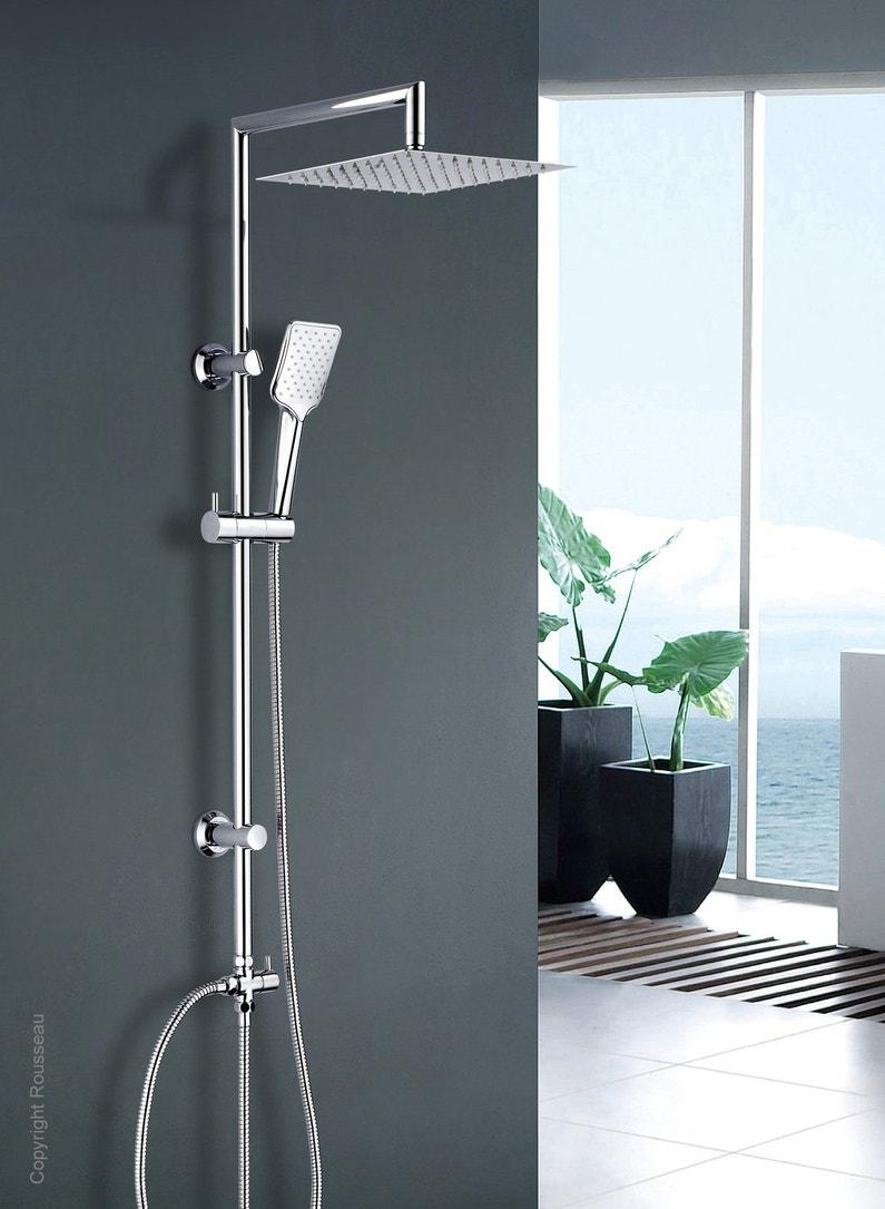Une colonne de douche moderne et harmonieuse leroy merlin - Leroy merlin colonne de douche ...