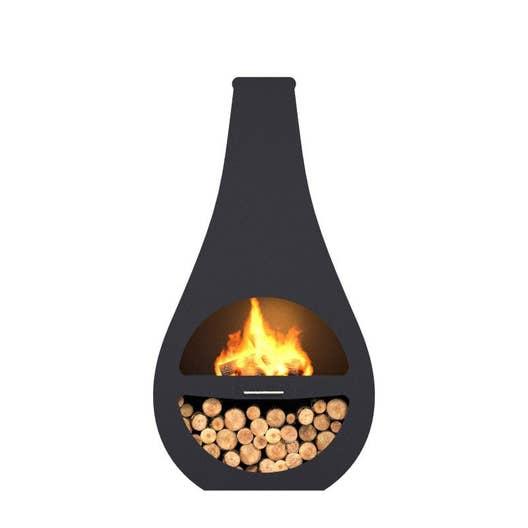 cheminee exterieur