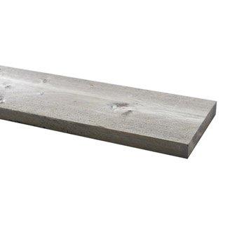 Planche sapin gris 30x195mm L 2.5m