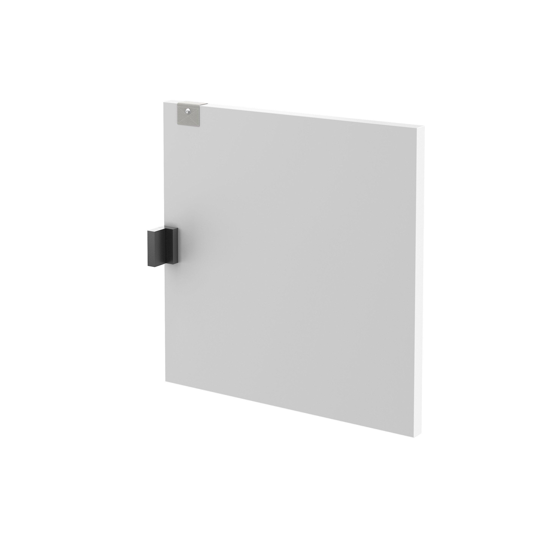 Porte seule battant Spaceo kub blanc l.32.2xH.35cm