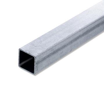 Fer et profil fer et profil au meilleur prix leroy - Tube carre acier brico depot ...