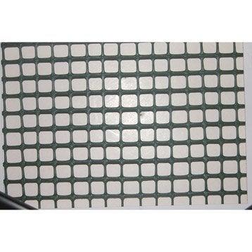 Grillage extrusion vert H.1 x L.3 m, maille de H.10 x l.10 mm