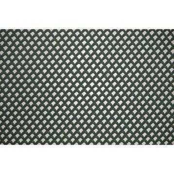 Grillage rouleau soudé vert ,H.0.5 x L.5 m H.3 x l.3 mm