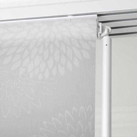 panneau japonais fleurs artifices gris x cm leroy merlin. Black Bedroom Furniture Sets. Home Design Ideas