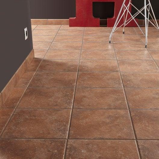 Carrelage sol et mur cotto effet pierre perigueux x l for Materiel de carrelage
