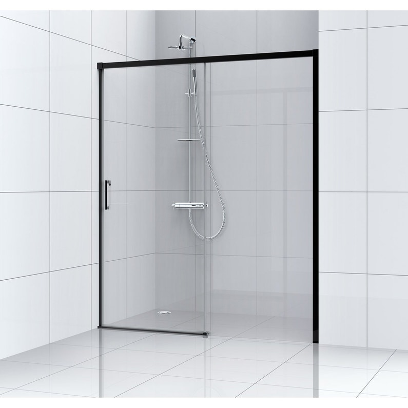 Porte De Douche Coulissante 140 Cm Transparent Remix Leroy Merlin