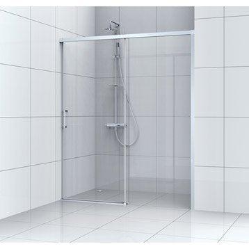 Porte de douche au meilleur prix leroy merlin for Porte douche coulissante 90