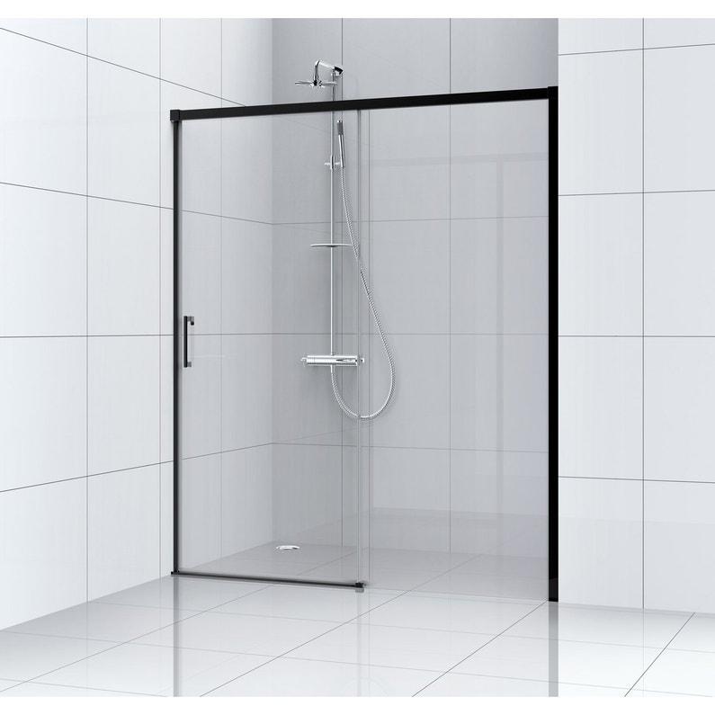 Joint detancheite pour porte de douche en verre - Porte coulissante pour douche de 130 cm ...