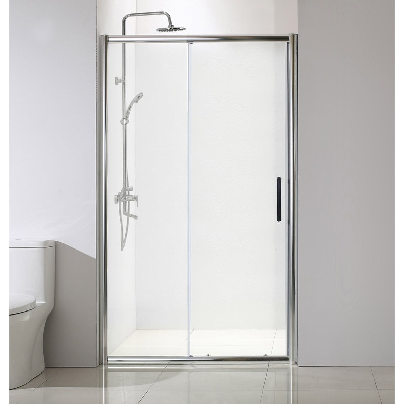 Porte De Douche Coulissante 120 Cm Transparent Quad
