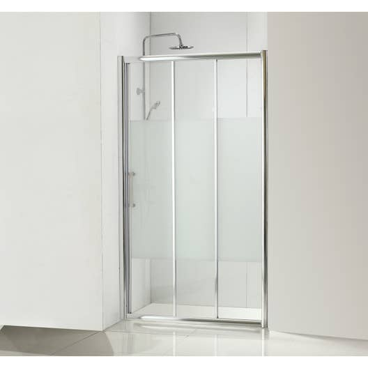 paroi de douche coulissante 110