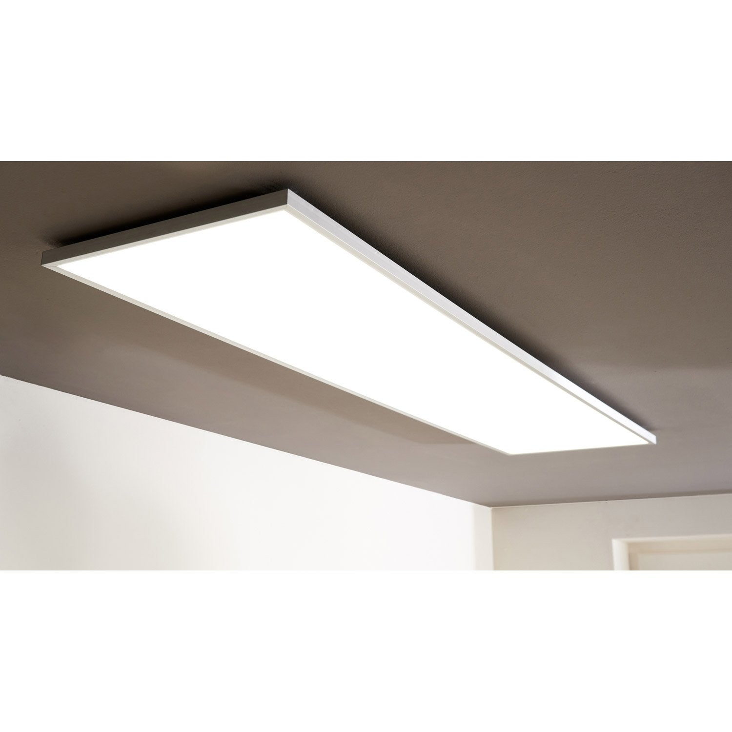 Panneau Led Int Gr E Gdansk Inspire Rectangle 120 X 30 Cm Intensit