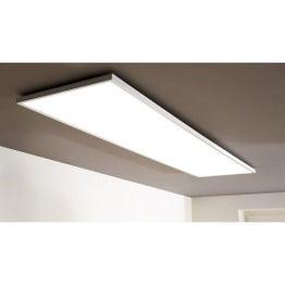 Panneau LED intégrée Gdansk INSPIRE rectangle 120 x 30 cm, intensité variable