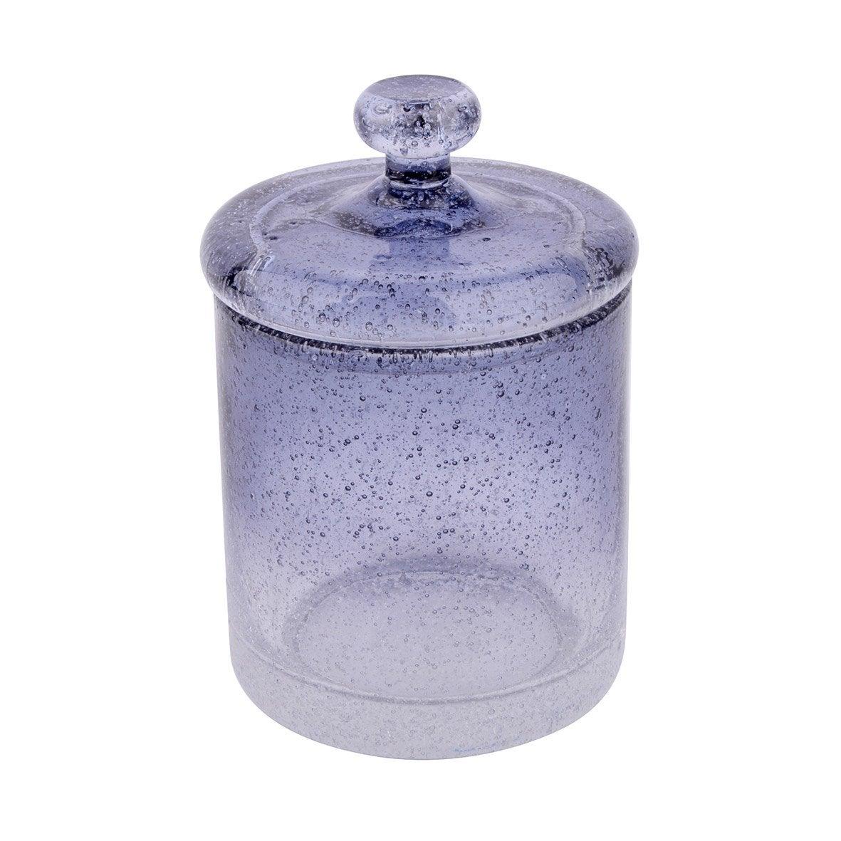 Boîte verre Atmosphere, bleu