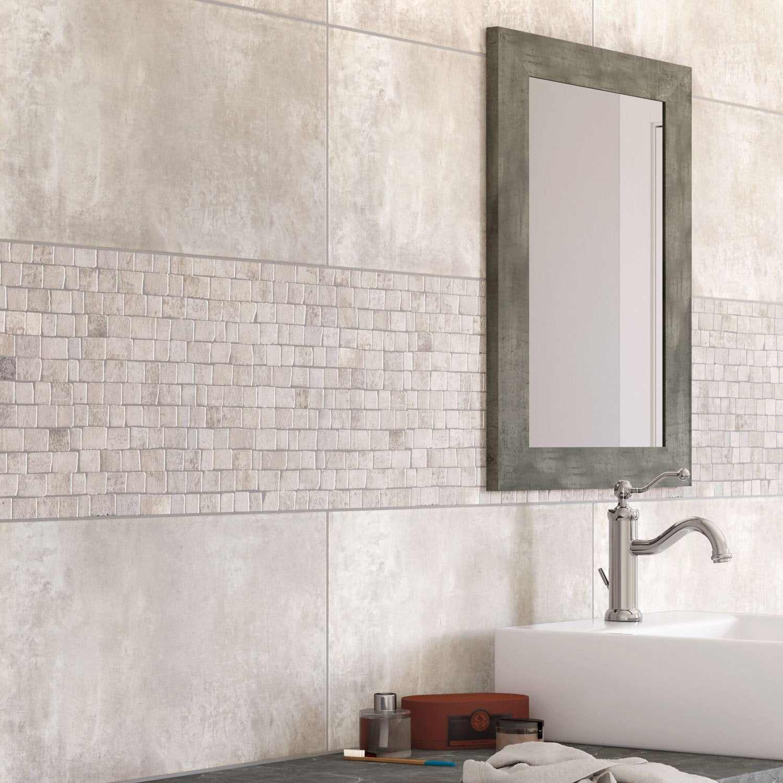 Carrelage Sol Et Mur Blanc, Blend L.30.8 X L.61.5 Cm