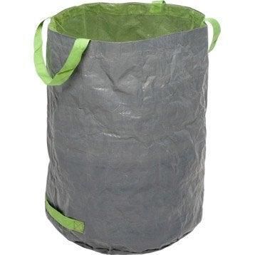 Sac à végétaux à gazon réutillisable GEOLIA 125 l