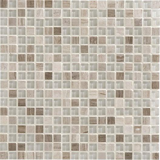 mosaïque et galets pour carrelage de salle de bains | leroy merlin - Carrelage Galets Salle De Bain