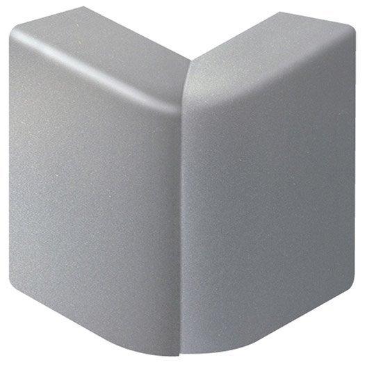 angle ext rieur aluminium pour plinthe h 10 x p 5 5 cm leroy merlin. Black Bedroom Furniture Sets. Home Design Ideas