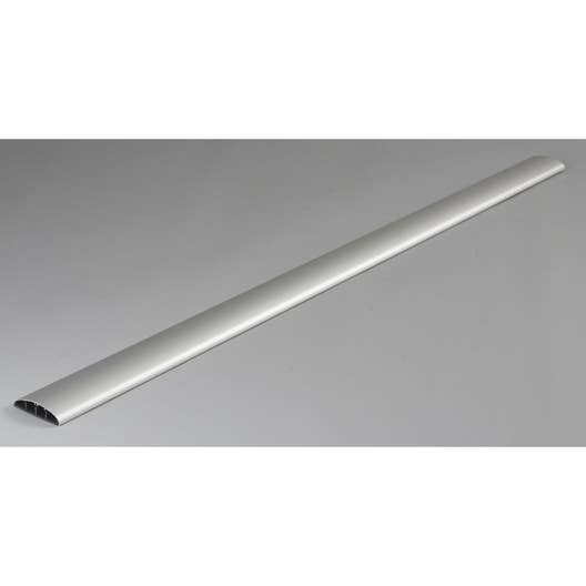 cache c ble aluminium pour moulure x p 7 cm leroy merlin. Black Bedroom Furniture Sets. Home Design Ideas