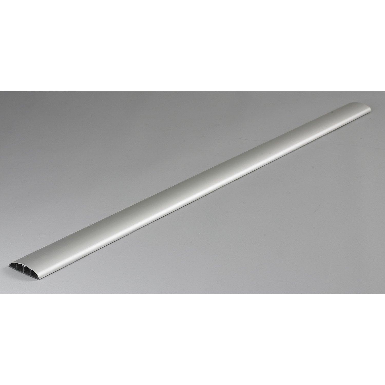 Merveilleux Cache Câble Aluminium Pour Moulure, H.100 X P.7 Cm