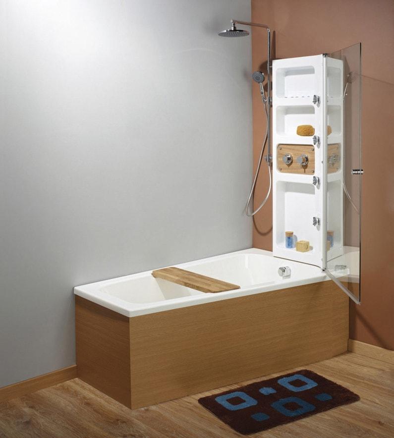 des jets hydromassants dans la baignoire douche leroy merlin. Black Bedroom Furniture Sets. Home Design Ideas