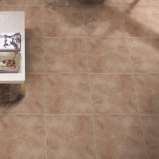 Carrelage sol et mur cuir effet terre cuite gobi x for Prix carrelage terre cuite