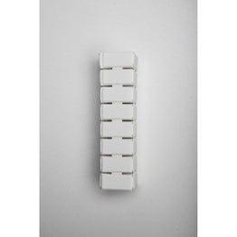 32 taquets d'assemblage blanc