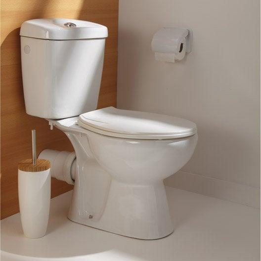 pack wc à poser sortie horizontale nerea | leroy merlin