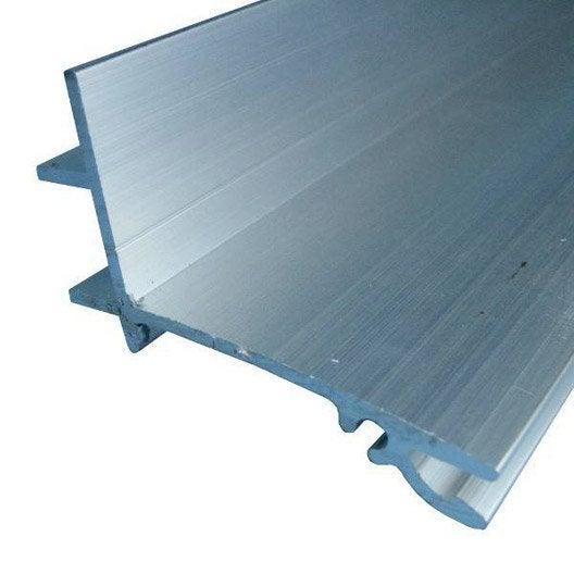 fa ti re sup rieure sur mesure pour plaque ep 32 mm aluminium l 0 5 m leroy merlin. Black Bedroom Furniture Sets. Home Design Ideas