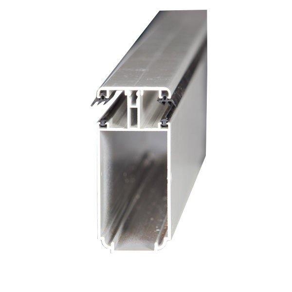 Tube 121 Sur Mesure Jonction Pour Plaque Ep 16 Mm Aluminium L05 M