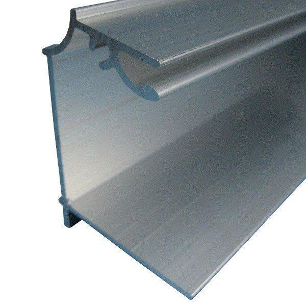Faîtière Sur Mesure Pour Plaque Ep 16 Mm Aluminium L05 M