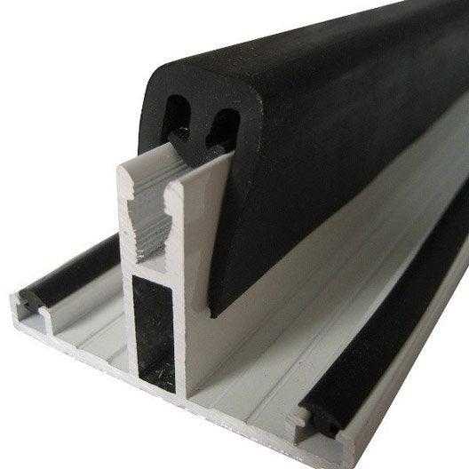 profil t sur-mesure faîtière pour plaque ep. 32 mm aluminium, l