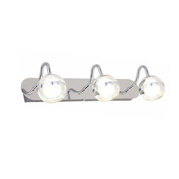 Spot patère Eri, LED 3 x 5 W, LED intégrée blanc froid