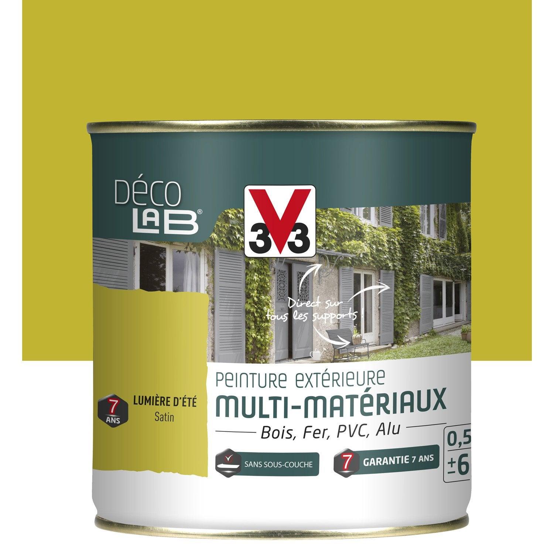 peinture multimat riau ext rieur v33 lumi re d 39 t 0 5 l leroy merlin. Black Bedroom Furniture Sets. Home Design Ideas
