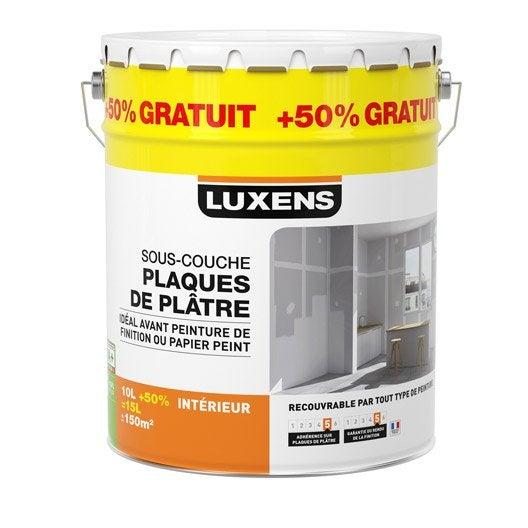 Sous-couche plaque de plâtre LUXENS 15 l