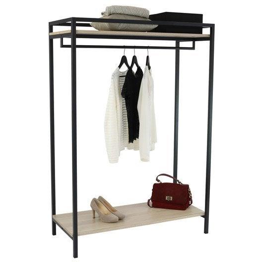 portant pour v tements et housse pour penderie au meilleur. Black Bedroom Furniture Sets. Home Design Ideas