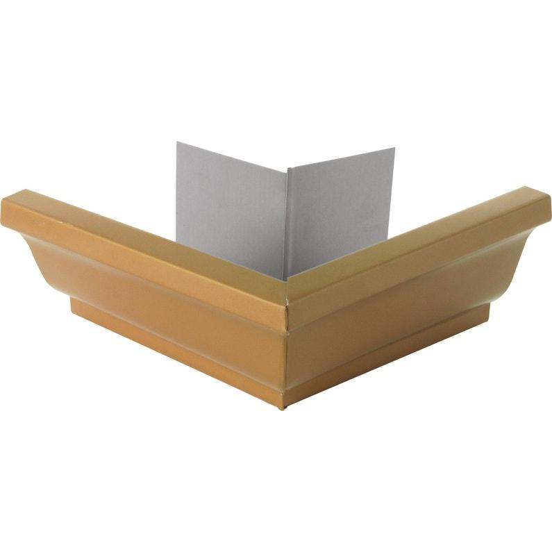 Angle Extérieur Pour Gouttière Aluminium Miel Lmc Virano Dév30 Cm