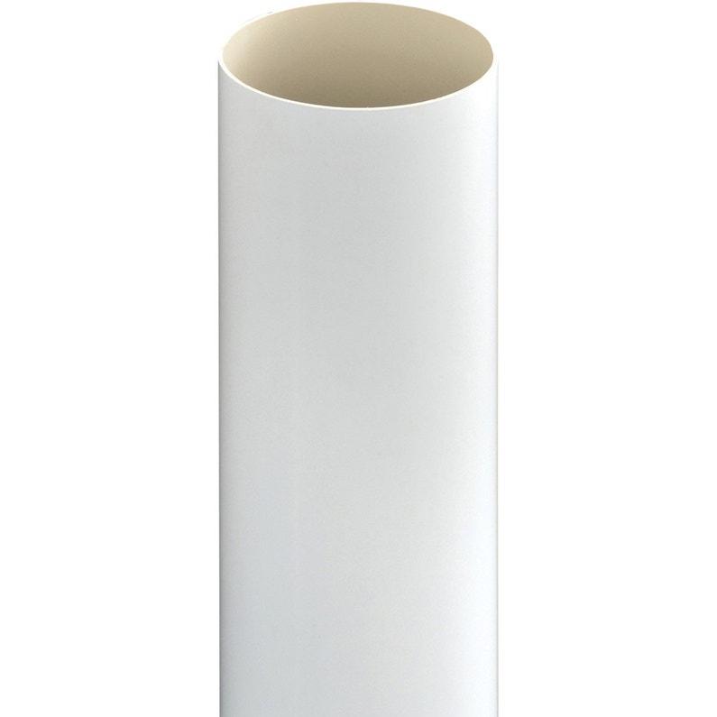 Tuyau De Descente Pvc Blanc Diam100 Mm L28 M Girpi