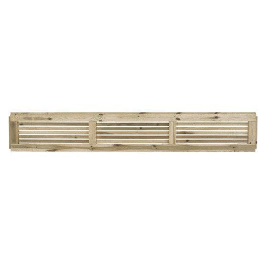 lame d corative bois embo ter oslo naturel x cm x mm leroy merlin. Black Bedroom Furniture Sets. Home Design Ideas